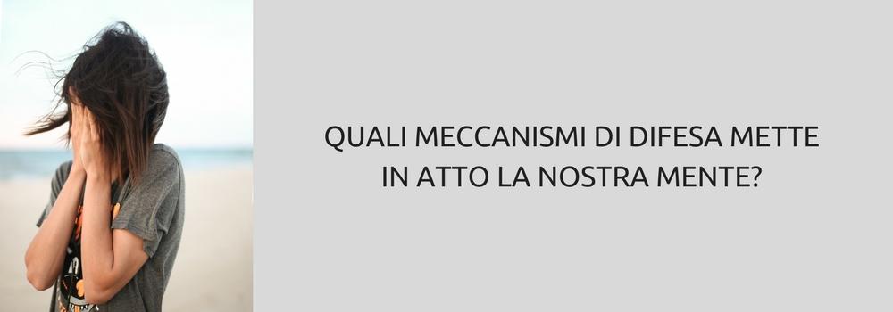 MECCANISMI DI DIFESA: I PIU' COMUNI SECONDO TONY ROBBINS